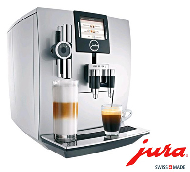 Official supplier of Jura machines